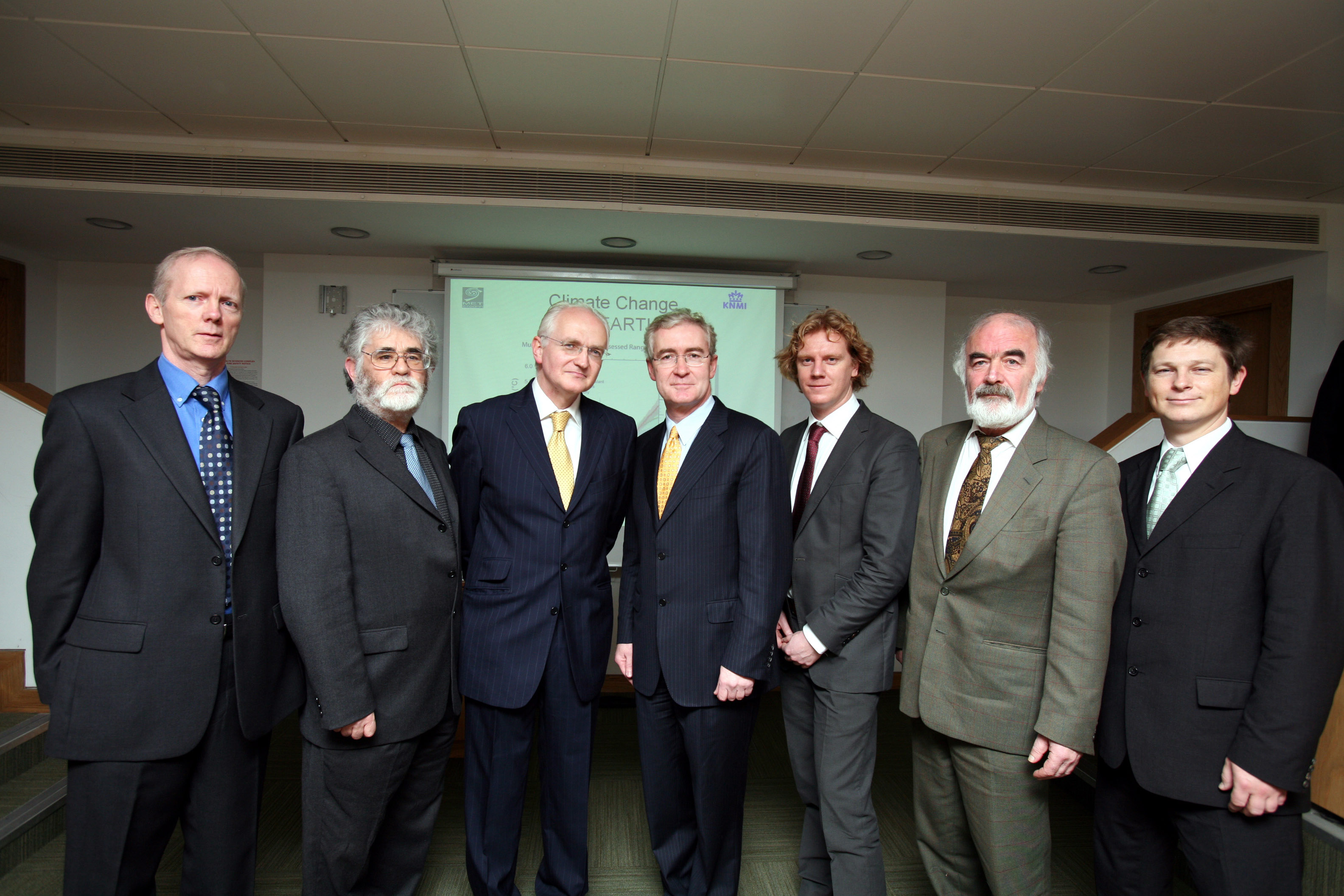 Ministerial launch of EC-Earth Consortium in Dublin