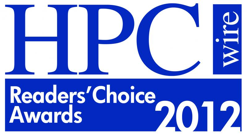 HPCwire Readers Choice Award 2012